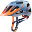 UVEX Quatro Helmet blue-silver orange